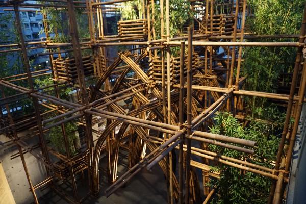 ヴォチョンギア竹建築